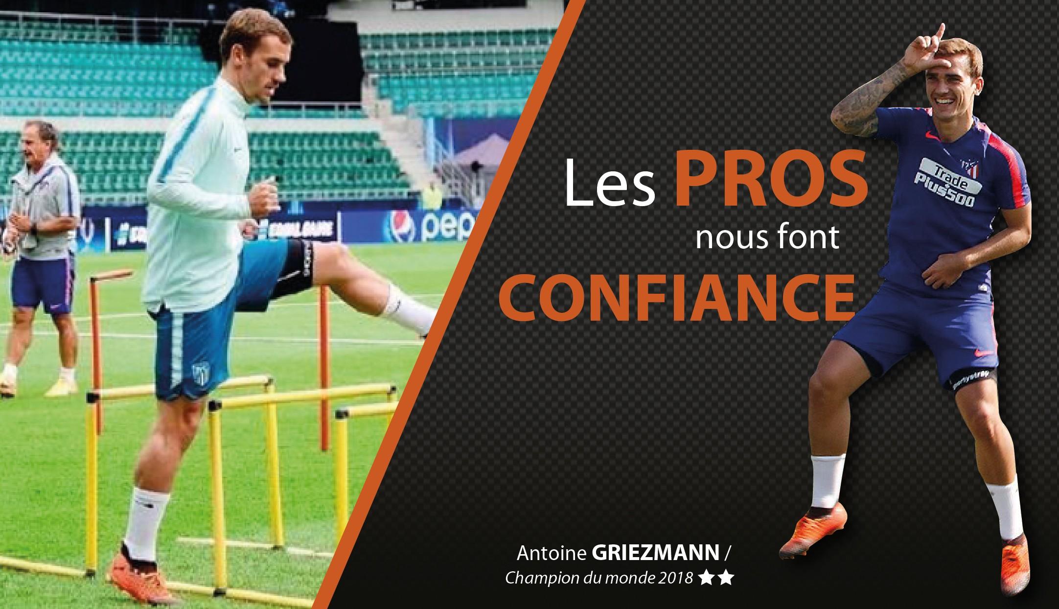 Antoine GRIEZMANN et ses Shortystraps !